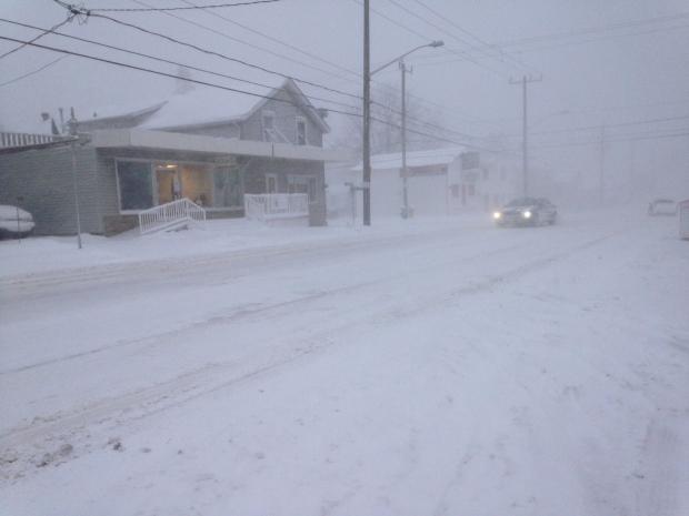 Lobsinger Line snowy