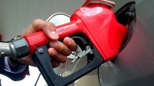 Experts say sanctions on oil-producing nations is driving up the price at the pumps for gas. (CTV News/Colin D'Mello)