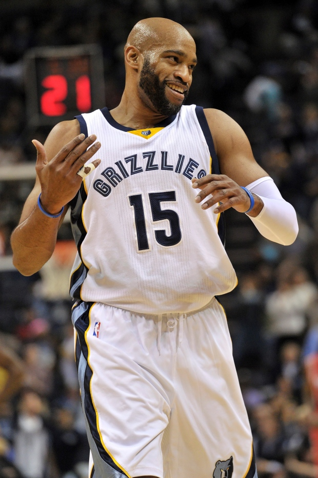 online retailer be339 f5ff0 Vince Carter has fond feelings for Raptors 10 years after ...
