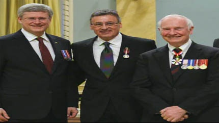 David Chalack is a recipient of a Diamond Jubilee Medal and our Inspiring Albertan.