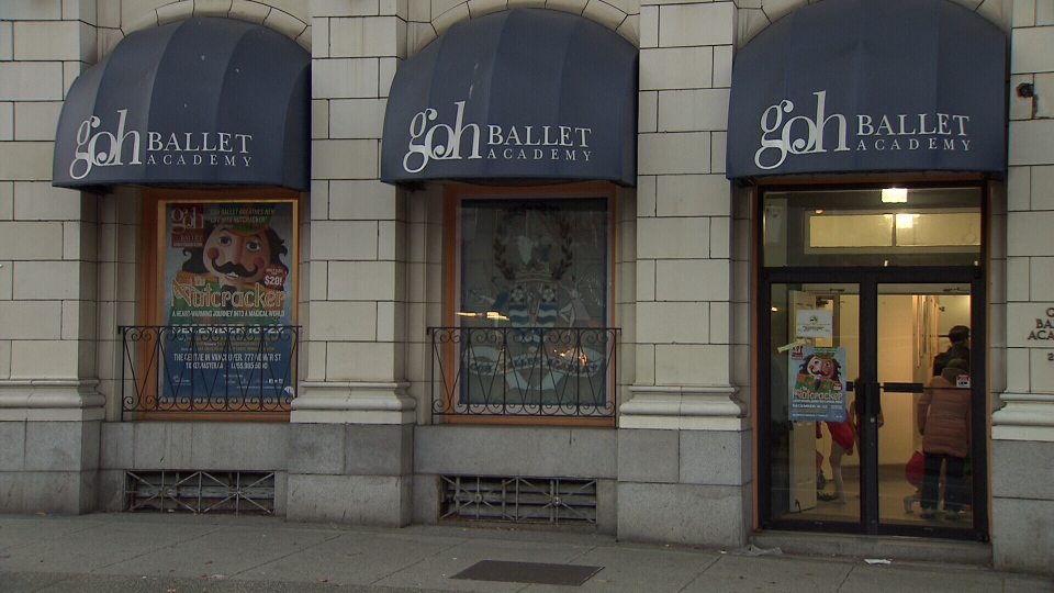A former Goh Ballet Academy instructor has been charged after allegedly having a sexual relationship with an underage student. Nov. 19, 2014. (CTV)