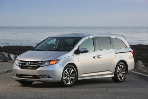 This undated file photo provided by Honda shows the 2014 Honda Odyssey. (AP Photo/Honda, File)