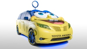 The concept car takes the cartoon star as its inspiration. (Toyota)