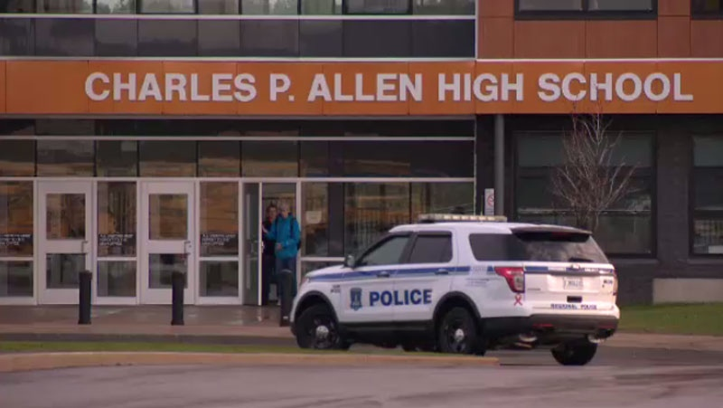 Charles P. Allen High School