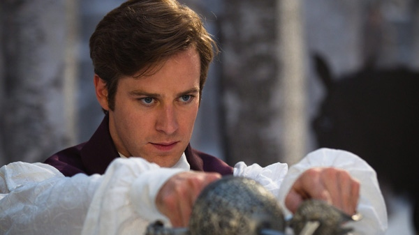 Armie Hammer in a scene from Alliance Films' 'Mirror Mirror.'
