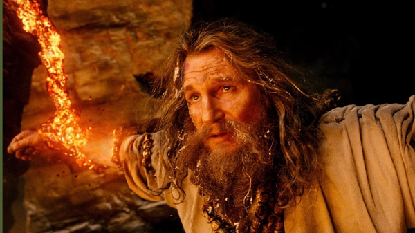 Liam Neeson in a scene from Warner Bros.' 'Wrath of the Titans.'