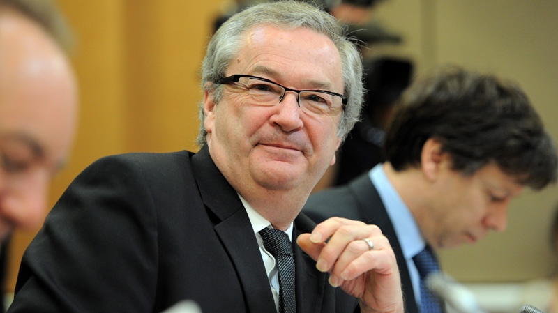 Chief Electoral Officer Marc Mayrand appears as a witness at a Commons house affairs committee in Ottawa on Thursday, March 29, 2012 to discuss allegations of wrong-dong during the 41st General Election. (Sean Kilpatrick / THE CANADIAN PRESS)