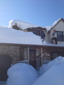 Buffalo snow storm
