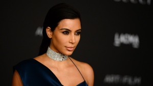 Kim Kardashian at the LACMA Art + Film Gala in Los Angeles on Nov. 1, 2014, in Los Angeles. (AP/ Jordan Strauss)