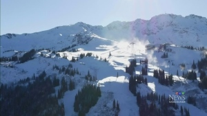 CTV Vancouver: Whistler Mountain opening Saturday