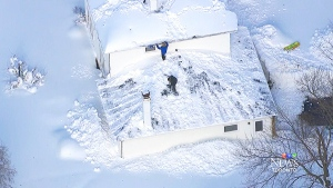 CTV Toronto: Digging out from the snow