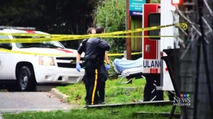 CTV Vancouver: Mounties open fire after truck rams