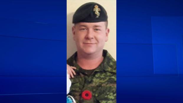 Craftsman Kyle Sinclair died in the Royal Canadian Dragoon lines at CFB Petawawa on Friday, Nov. 21, 2014.
