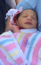 This photo released by New South Wales Police shows a newborn baby who was found in a drain in the Sydney suburb of Quakers Hill, Australia on Sunday, Nov. 23, 2014.