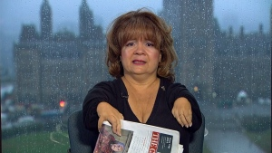 Mercedes Benegbi, the executive director of the Thalidomide Victims Association of Canada,