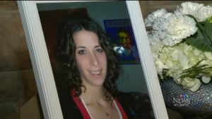 Catie Miller is seen in this image taken from video.