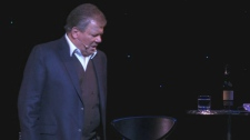 William Shatner performs in his one-man show, 'Shatner's World: We Just Live In It,' at the Pantages Theatre in Los Angeles, Calif. on Saturday, March 10, 2012.