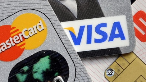 Credit cards are shown in this undated file image. (CTV)