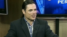 Conservative Senator Pierre Brazeau appears on CTV's Question Period on Sunday, April 1, 2012.