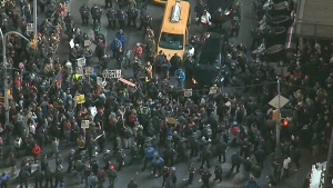 LIVE3: Protests break out in New York