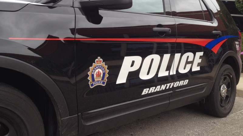 A Brantford Police vehicle is seen on Tuesday, Sept. 2, 2014. (David Imrie / CTV Kitchener)