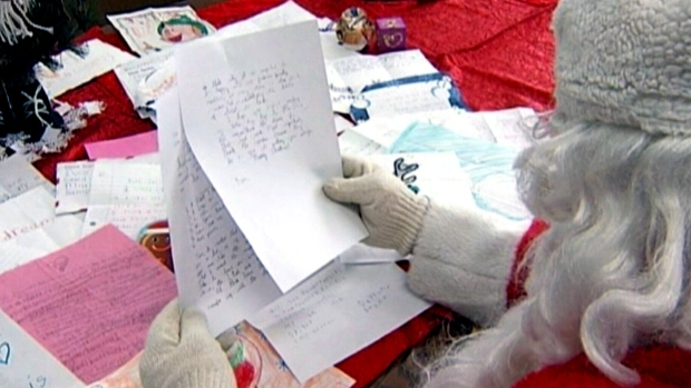How Kids In Canada Can Mail Their Christmas Letters To Santa Claus Ctv News,Longhorn Parmesan Crusted Chicken Nutrition Recipe