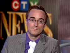 Chris Reid, the former Conservative candidate for Toronto Centre appears on CTV Newsnet on Sunday, Sept. 21, 2008.