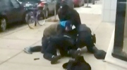 Caught on cam: Good Samaritans help cops in Taser