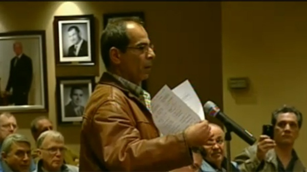 Basile Maalouf is being sued by the city of Kirkland for the cost of sewer repairs (April 3, 2012)
