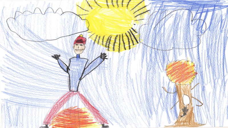 Jared Holden, Grade 3, St. Clare Catholic School