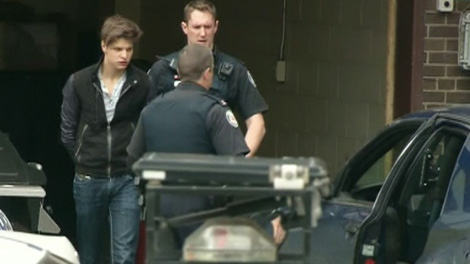 Oliver Karafa, 19, appeared in a Toronto court on Tuesday, April 3, 2012.