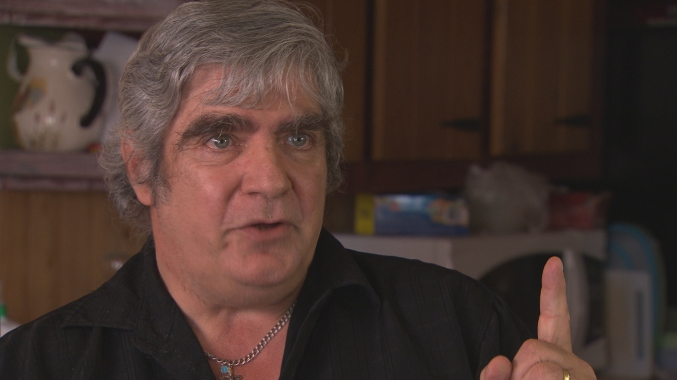 Claude Provencher, 58, claims to have healing powers derived from God.
