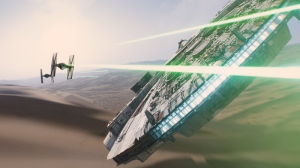 In this image released by Disney, a scene is shown from the film, 'Star Wars: The Force Awakens.' (LucasFilm / Disney)