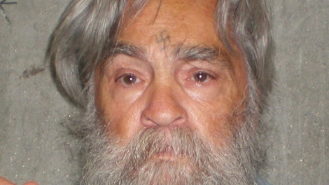 Charles Manson is shown in this handout photo taken at the state prison in Corcoran, Calif. in June of 2011. (California Department of Corrections)