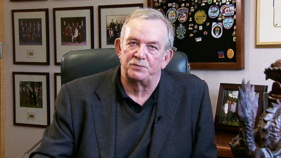 Burnaby Mayor David Corrigan appears on CTV's Question Period on Sunday, Nov. 30, 2014
