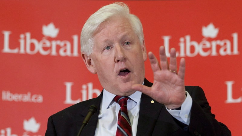 Liberal leader Bob Rae delivers a speech to caucus members and Liberal staff during a special caucus meeting in Ottawa, Wednesday April 4, 2012. (Adrian Wyld / THE CANADIAN PRESS)