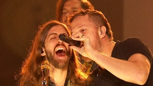 CTV News Channel: Imagine Dragons rock the stage