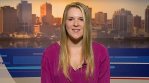 Emily Sollows, who volunteered to help test the new made-in-Canada Ebola vaccine, speaks to Canada AM, Monday, Dec. 1, 2014.