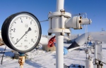 In this Thursday, Jan. 1, 2009 file photo, a gas pressure gauge on the main gas pipeline from Russia, in the village of Boyarka near the capital Kiev, Ukraine. (AP Photo/Sergei Chuzavkov)