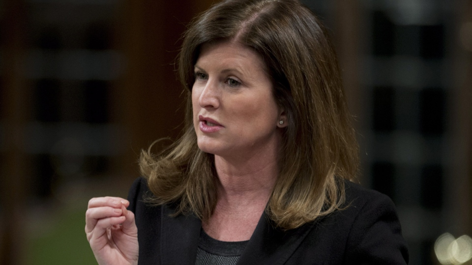 Minister of Health Rona Ambrose responds to a question during question period in the House of Commons, in Ottawa, Thursday, Nov. 27, 2014. (Adrian Wyld / THE CANADIAN PRESS)