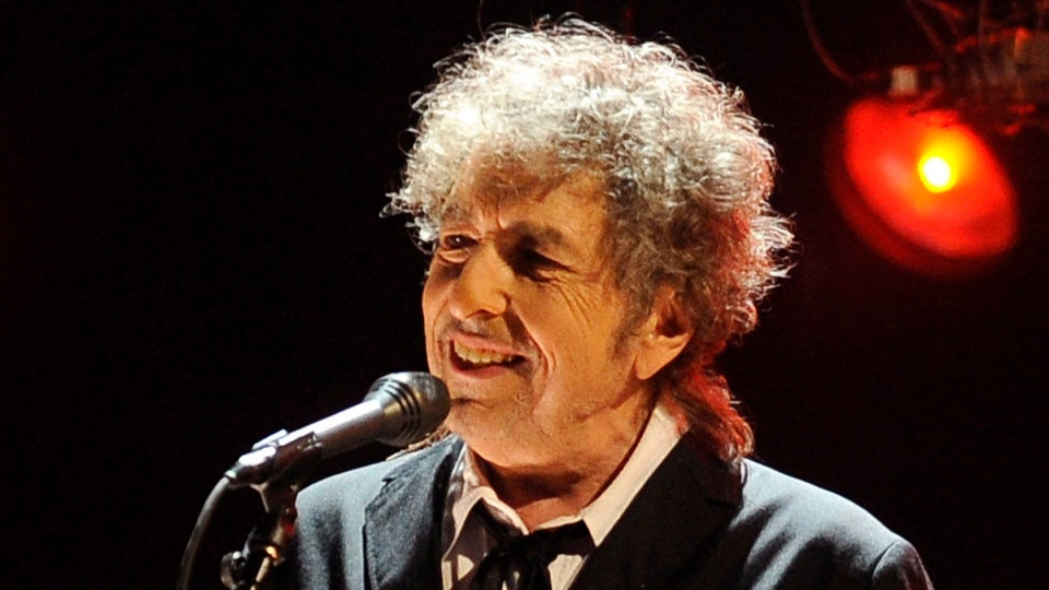 Bob Dylan performs in Los Angeles on July 22, 2012. (AP / Chris Pizzello)