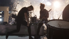 Imagine Dragons perform at the Grey Cup in B.C.