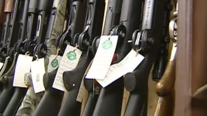 The Supreme Court is set to rule Friday on the fate of Quebec's gun registry data.