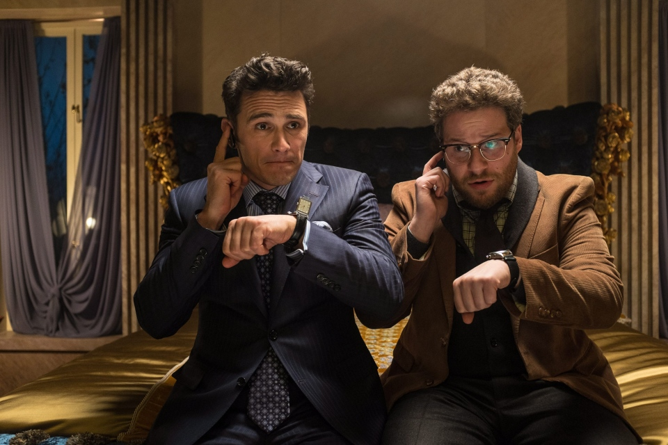 James Franco and Seth Rogen in a scene from 'The Interview' (Columbia Pictures / Sony Pictures / Ed Araquel)