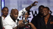 Young Jeezy accepts the Viewers' Choice Award at the BET Awards on Sunday, June 27, 2010 in Los Angeles. (AP Photo/Matt Sayles)