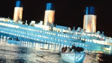 Scene from the movie 'Titanic.'