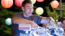 Seann William Scott is shown in a scene from Universal Picture's 'American Reunion.'
