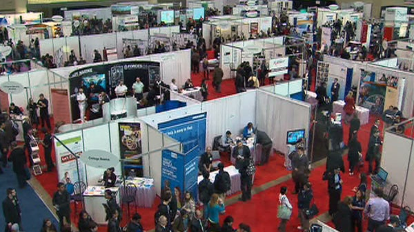 unemployment, jobs, job fair, Toronto, Ontario, Canada, jobless