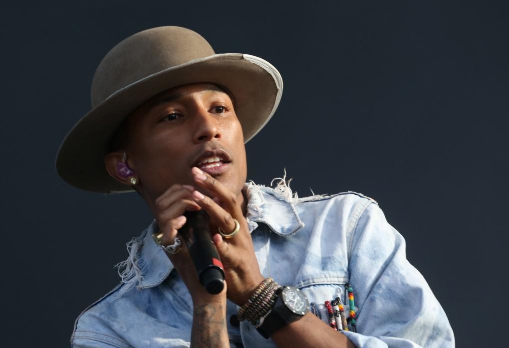 Pharrell Williams - July 2014