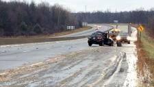 Highway 401 fatal crash at Brockville
